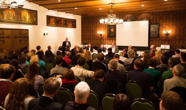 Zurich, 27.3.2014: Zurich Salon - Limits and Potential of Neuroscience (www.zurichsalon.ch)